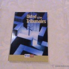 Libros de segunda mano - Usted y los tribunales. - 39348780