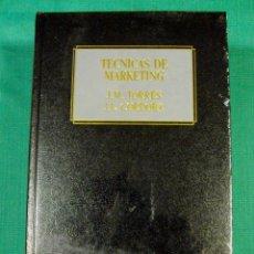 Libros de segunda mano: LIBRO MARKETING NUEVO TECNICAS DE MARKETING DEUSTO. Lote 39537059
