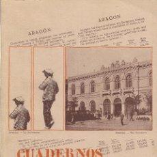 Libros de segunda mano: CUADERNOS ARAGONESES DE ECONOMÍA Nº 6 (CURSO 1981/82). FACULTAD ECONÓMICAS, ZARAGOZA, 1982. Lote 39629005
