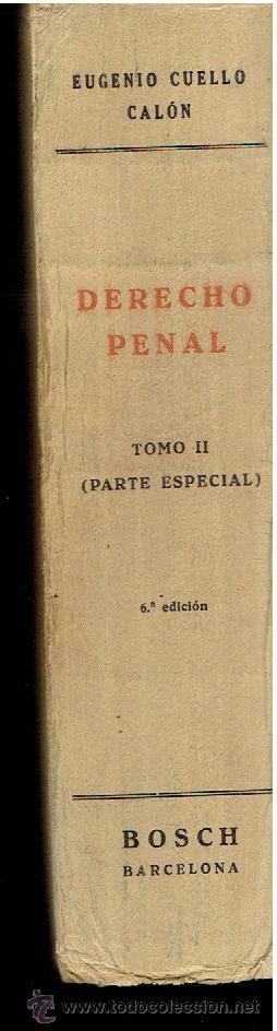 Libros de segunda mano: DERECHO PENAL TOMO II PARTE ESPECIAL SEXTA EDICIÓN - Foto 3 - 40310292