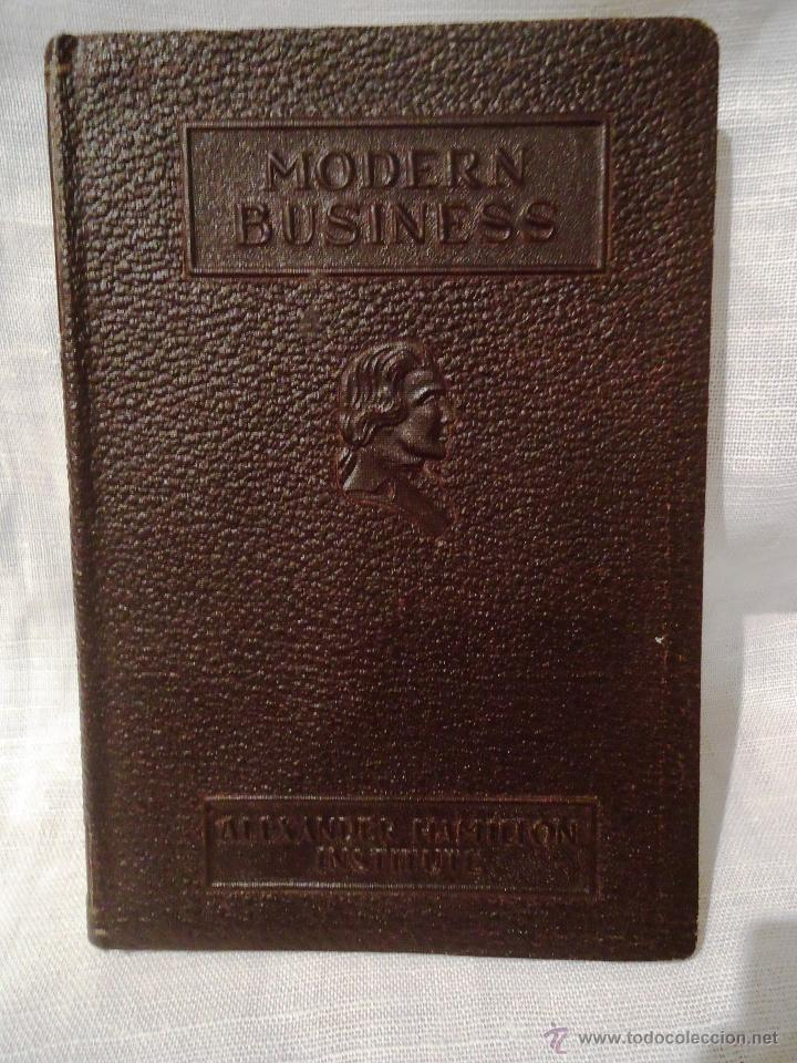 Libros de segunda mano: 2 LIBROS DE MODERN BUSSINES. 1946 - Foto 2 - 40316395