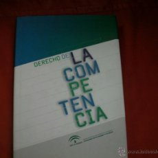 Libros de segunda mano: DERECHO DE LA COMPETENCIA. Lote 40651893