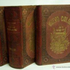Libros de segunda mano: ALEJANDRO BACARDI.NUEVO COLÓN O TRATADO DE DERECHO MILITAR DE ESPAÑA Y SUS INDIAS. BARCELONA 1878. Lote 40686886