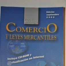 Libros de segunda mano: CÓDIGO COMERCIO Y LEYES MERCANTILES. RM64034. Lote 40936623