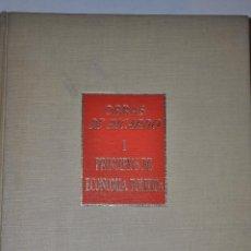 Libros de segunda mano: PRINCIPIOS DE ECONOMÍA POLÍTICA Y TRIBUTACIÓN. DAVID RICARDO RM64914. Lote 41712579