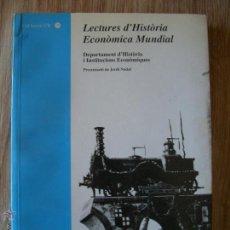 Libros de segunda mano: LECTURES D´HISTORIA ECONOMICA MUNDIAL.1997.. Lote 41739254