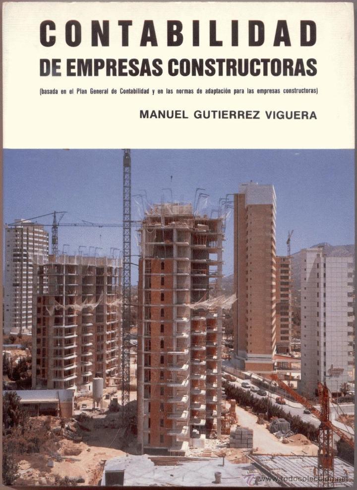 Contabilidad de empresas constructoras basada comprar for Empresas constructoras