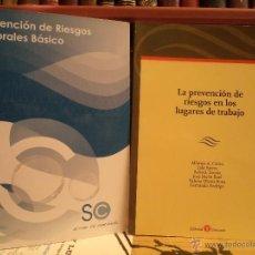 Libros de segunda mano - LA PREVENCIÓN DE RIESGOS EN LOS LUGARES DE TRABAJO. PREVENCIÓN DE RIESGOS LABORALES BÁSICO. - 42653237