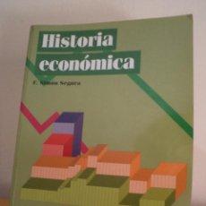 Libros de segunda mano: HISTORIA ECONÓMICA. SIMÓN SEGURA, F. EDITORIAL CENTRO DE ESTUDIOS RAMÓN ARECES, 1997.. Lote 42759062