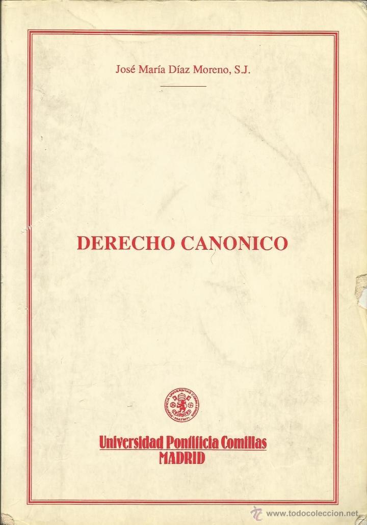 Apuntes de Derecho Canónico (José María Díaz Moreno, S.J.) - Facultad de Derecho ICADE, 1991 segunda mano