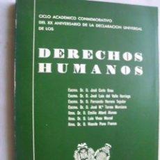 Libros de segunda mano: DERECHOS HUMANOS. 1969. Lote 42822502