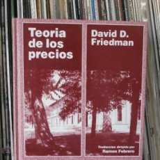 Libros de segunda mano: TEORIA DE LOS PRECIOS - DAVID D. FRIEDMAN. EUROLEX. Lote 42867513