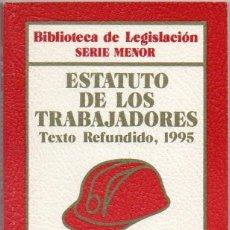 Libros de segunda mano: ESTATUTO DE LOS TRABAJADORES. TEXTO REFUNDIDO, 1995.. Lote 43352510