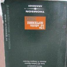 Libros de segunda mano: LEGISLACIÓN LABORAL Y DE SEGURIDAD SOCIAL. Lote 43724604