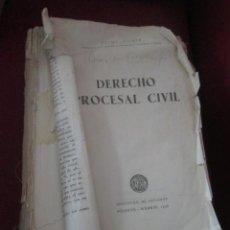 Libros de segunda mano: DERECHO PROCESAL CIVIL. JAIME GUASP. 1956.. Lote 43766599