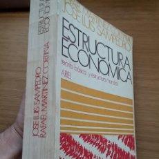 Libros de segunda mano: ESTRUCTURA ECONÓMICA. TEORIA BÁSICA Y ESTRUCTURA MUNDIAL. JOSE LUIS SAMPEDRO.ED ARIEL. 1975. 684 PAG. Lote 43778928
