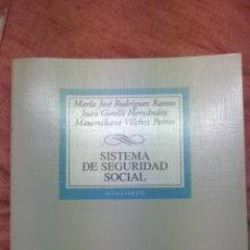 Libros de segunda mano: SISTEMA DE SEGURIDAD SOCIAL. TECNOS. 2006.. Lote 43853643