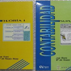Libros de segunda mano: CONTABILIDAD, TEORÍA Y SUPUESTOS (2 TOMOS). Lote 43916868