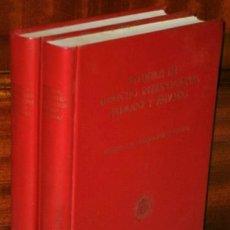 Libros de segunda mano: ESTUDIOS DE DERECHO INTERNACIONAL PÚBLICO Y PRIVADO 2T, HOMENAJE A D. LUIS SELA SAMPIL OVIEDO 1970. Lote 43996134