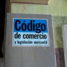 Libros de segunda mano: CÓDIGO DE COMERCIO Y LEGISLACIÓN MERCANTIL. EST2B2. Lote 44250137