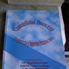 Libros de segunda mano: CONTABILIDAD FINANCIERA. TRANSPARENCIAS Y SUPUESTOS PRÁCTICOS. VOL. 2. EST2B3. Lote 44251458