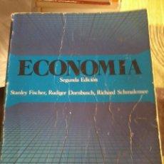 Libros de segunda mano: ECONOMIA. STANLEY FISCHER, RUDIGER DORNBUSCH, RICHARD SCHMALENSEE. SUB-RAYADO LAPIZ Y ROT. EST14B3. Lote 44274451