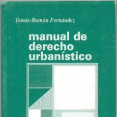 Libros de segunda mano: MANUAL DE DERECHO URBANÍSTICO. Lote 44490621