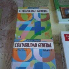 Libros de segunda mano: CONTABILIDAD GENERAL VOLUMEN 1 Y 2. ANGEL SÁEZ TORRECILLA. EST17B1. Lote 44773626