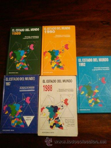 EL ESTADO ECONOMICO AÑOS ,19841987,1988,1989,1990,1992 (Libros de Segunda Mano - Ciencias, Manuales y Oficios - Derecho, Economía y Comercio)