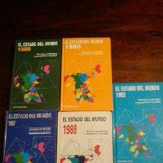 Libros de segunda mano: EL ESTADO ECONOMICO AÑOS ,19841987,1988,1989,1990,1992. Lote 44803877