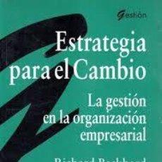 Libros de segunda mano: ESTRATEGIA PARA EL CAMBIO, PARRAMON. Lote 44839508