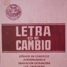 Libros de segunda mano: LETRA DE CAMBIO. Lote 45053214
