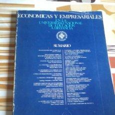 Libros de segunda mano: ECONOMICAS Y EMPRESARIALES. EN LA UNIVERSIDAD NAC. DE EDUC. A DISTANCIA. EST17B1. Lote 45307506