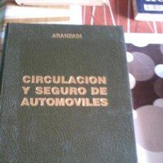 Libros de segunda mano: CIRCULACION Y SEGURO DE AUTOMOVILES. EDITORIAL ARANZADI. EST12B4. Lote 45366002