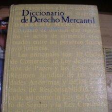 Libros de segunda mano: DICCIONARIO DE DERECHO MERCANTIL (MADRID, 1987). Lote 45630845