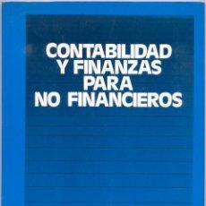 Libros de segunda mano: CONTABILIDAD Y FINANZAS PARA NO FINANCIEROS. Lote 45770391