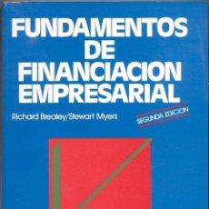 Libros de segunda mano: FUNDAMENTOS DE FINANCIACIÓN EMPRESARIAL. Lote 45802497