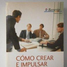 Libros de segunda mano: COMO CREAR E IMPULSAR SU PYME PRICE WATHER HOUSE COOPERS FUNDACION BANESTO 2004. Lote 46600051