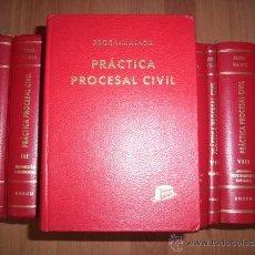 Libros de segunda mano - BROCÁ, Guillermo María de. Práctica procesal civil : Adaptada a la Ley Orgánica del Poder Judicial.. - 46642250