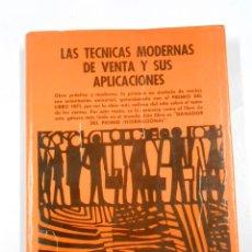 Libros de segunda mano: TECNICAS MODERNAS DE VENTA Y SUS APLICACIONES. ALLAN L. REID. TDK216. Lote 46822073