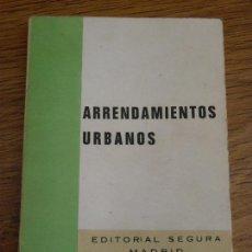 Libros de segunda mano: LEY DE ARRENDAMIENTOS URBANOS. Lote 47102474