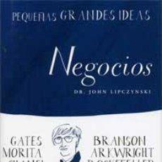 Libros de segunda mano: NEGOCIOS - LIPCZYNSKI, JOHN. Lote 47448320