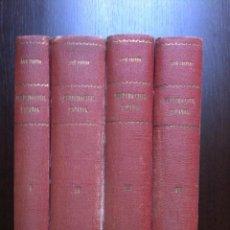 Libros de segunda mano: DERECHO CIVIL ESPAÑOL, COMUN Y FORAL - JOSE CASTAN TOBEÑAS - 4 TOMOS - EDIT. REUS - MADRID - 1943 -. Lote 47736727