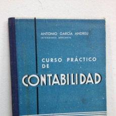 Libros de segunda mano: CURSO PRÁCTICO DE CONTABILIDAD. Lote 47892053