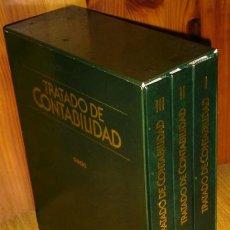 Libros de segunda mano: TRATADO DE CONTABILIDAD 3T POR ORIOL AMAT DE ED. CEAC EN BARCELONA 1985. Lote 48189312