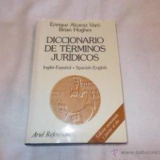 Libros de segunda mano: DICCIONARIO DE TÉRMINOS JURÍDICOS. Lote 48910689