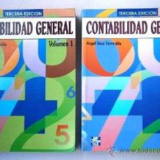 Libros de segunda mano: CONTABILIDAD GENERAL 2T POR ANGEL SÁEZ TORRECILLA DE ED. MCGRAW HILL EN MADRID 1993 3ª EDICIÓN. Lote 48951399