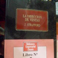 Libros de segunda mano: BIBLIOTECA EMPRESARIAL DEUSTO N.3 LA DIRECCIÓN DE VENTAS. J. STRAFFORD. NUEVO. Lote 49317190