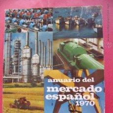 Libros de segunda mano: BANCO ESPAÑOL DE CREDITO.-BANESTO.-JOSE M. FONTANA TARRATS.-ANUARIO MERCADO ESPAÑOL 1970.-AÑO 1965.. Lote 49647561