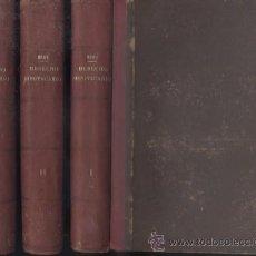 Libros de segunda mano: INSTITUCIONES DE DERECHO HIPOTECARIO. TRES TOMOS. ROCA SASTRE, RAMON MARIA. A-DE-497. Lote 49739597